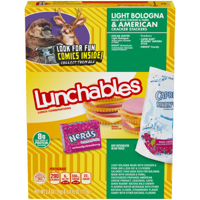Lunchables Bologna & American 8.8 oz Box
