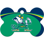 Notre Dame Fighting Irish Large Bone Quick-Tag