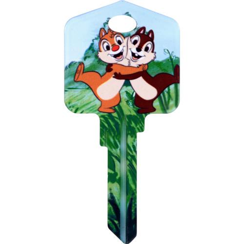 Disney Chip 'N' Dale Key Blank Kwikset 66/97 KW1/10