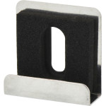 Deep Drawer Metallic High-Luster Chrome Mirror Clip Set