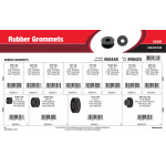 "Rubber Grommets Assortment (5/16"" thru 1-1/2"" Overall Length)"