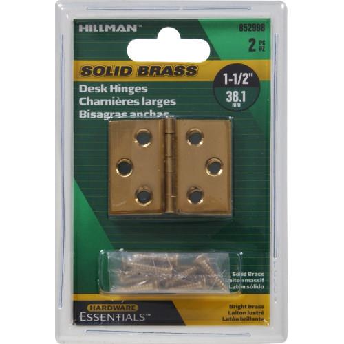 Hardware Essentials Desk Hinges 1-1/2