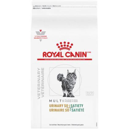 Royal Canin Veterinary Diet Feline Urinary + Satiety Dry Cat Food