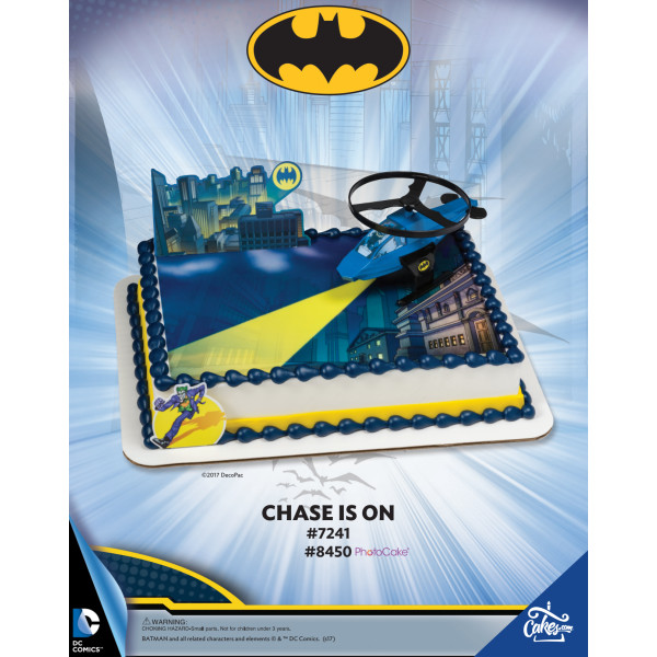 Batman Chase is On The Magic of Cakes® Page