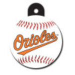 Baltimore Orioles Large Circle Quick-Tag