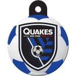 San Jose Quakes Large Circle Quick-Tag