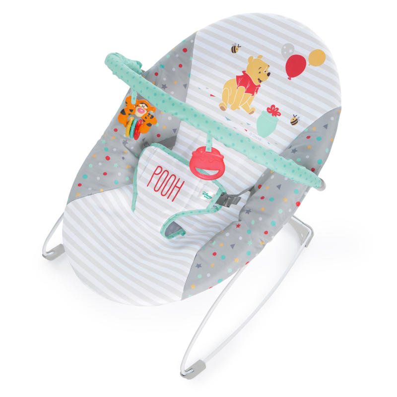 WINNIE THE POOH Happy Hoopla Vibrating Bouncer™ from Bright Starts™
