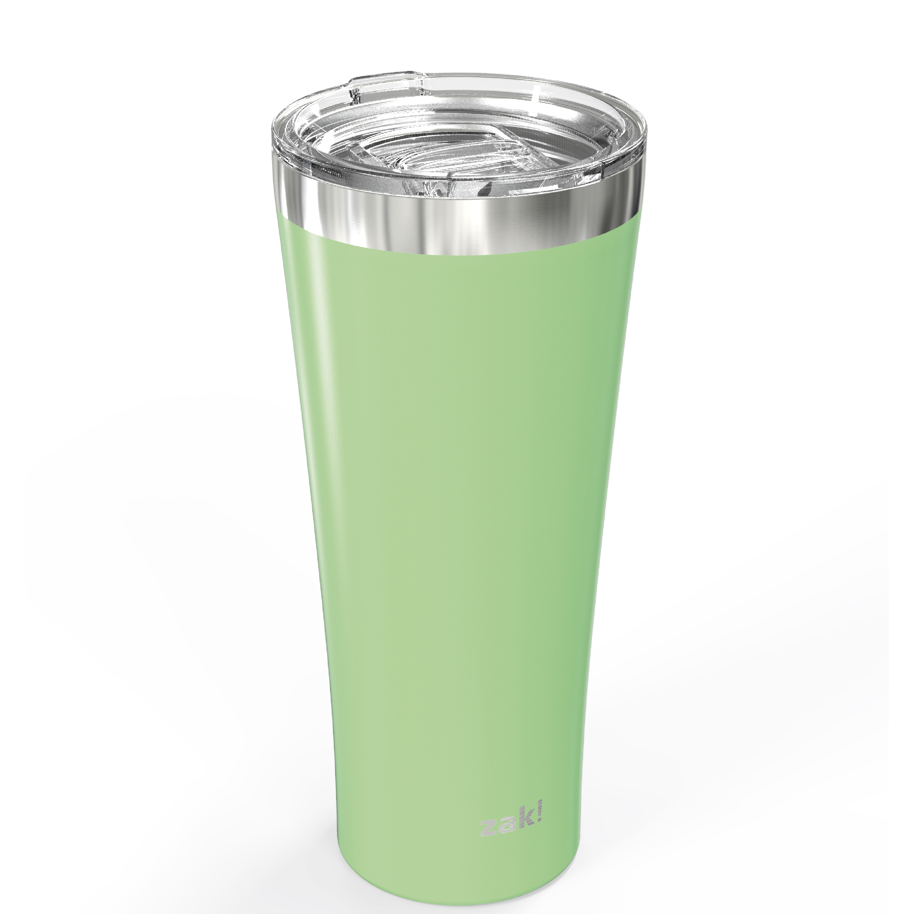 Alpine 30 ounce Stainless Steel Vacuum Insulated Tumbler with Straw, Neo Mint slideshow image 3