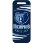 Memphis Grizzlies Large Luggage Quick-Tag