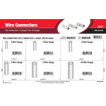 Wire Connectors Assortment (8 Gauge thru 00 Gauge Non-Insulated Butt Connectors)