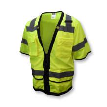 Radians SV59Z-3 Type R Class 3 Heavy Duty Surveyor Safety Vest with Zipper