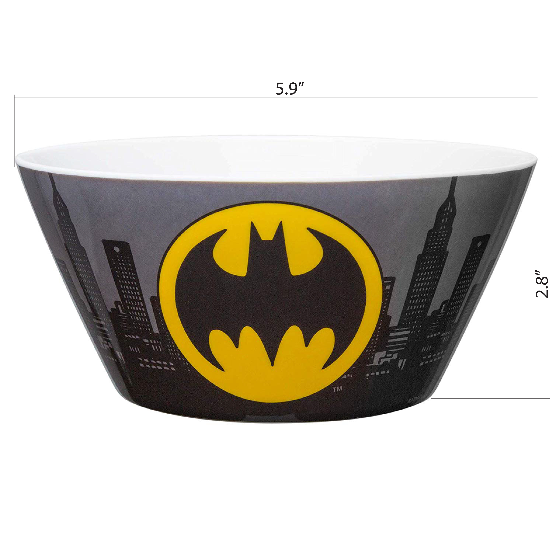 DC Comics Plate and Bowl Set, Batman, 2-piece set slideshow image 5