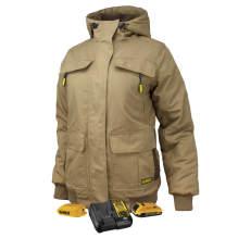 DEWALT® Women's Heavy Duty Ripstop Heated Jacket Kitted