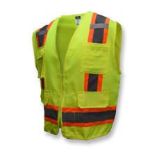 Radians SV62 Type R Class 2 Surveyor Heavy Duty Solid Twill Safety Vest