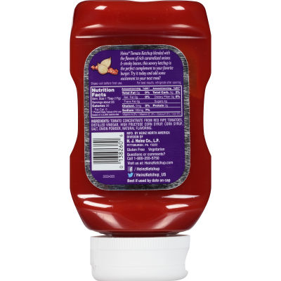 Heinz Caramelized Onion & Bacon Tomato Ketchup 14 oz Bottle