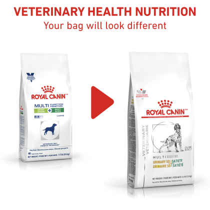 Royal Canin Veterinary Diet Canine Urinary SO + Satiety Dry Dog Food