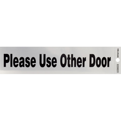 Adhesive Use Other Door Sign (2