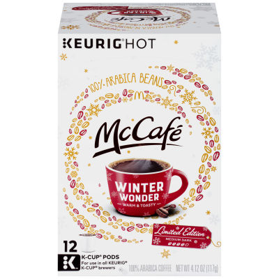 McCafé Winter Wonder Coffee K-Cup Pods, 12 count
