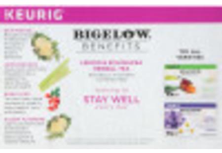 Keurig Bigelow Beneifts Lemon and Echinacea Herbal Tea  K-Cups box of 10