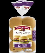 (15 ounces) Pepperidge Farm® White Slider Buns