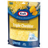 Kraft Finely Shredded Triple Cheddar Natural Cheese 8 oz Pouch