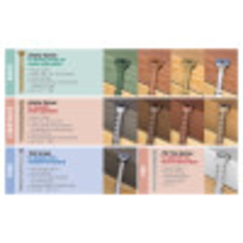 White Star-Drive Composite Deck Screw #8 x 2-1/2