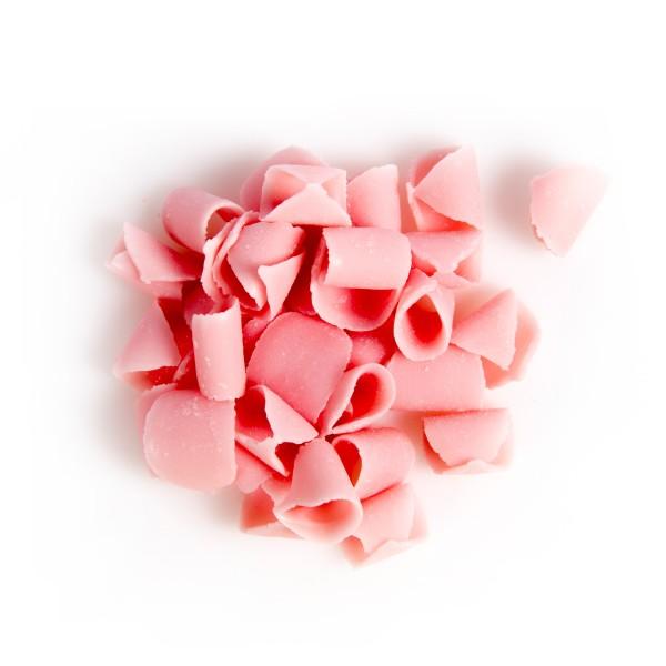 Pink Blossom Curls Belgian Chocolate