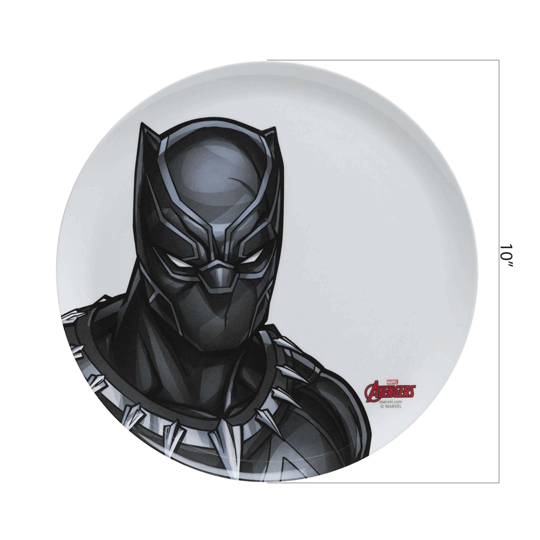 Marvel Comics Kid's Plate, Black Panther slideshow image 2