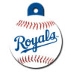 Kansas City Royals Large Circle Quick-Tag