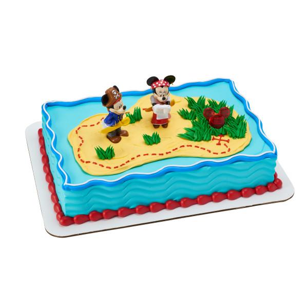 Mickey Mouse & Friends Mickey & Minnie Pirate Adventure DecoSet®