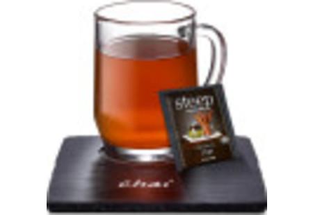 Cup of steep by bigelow organic chai tea