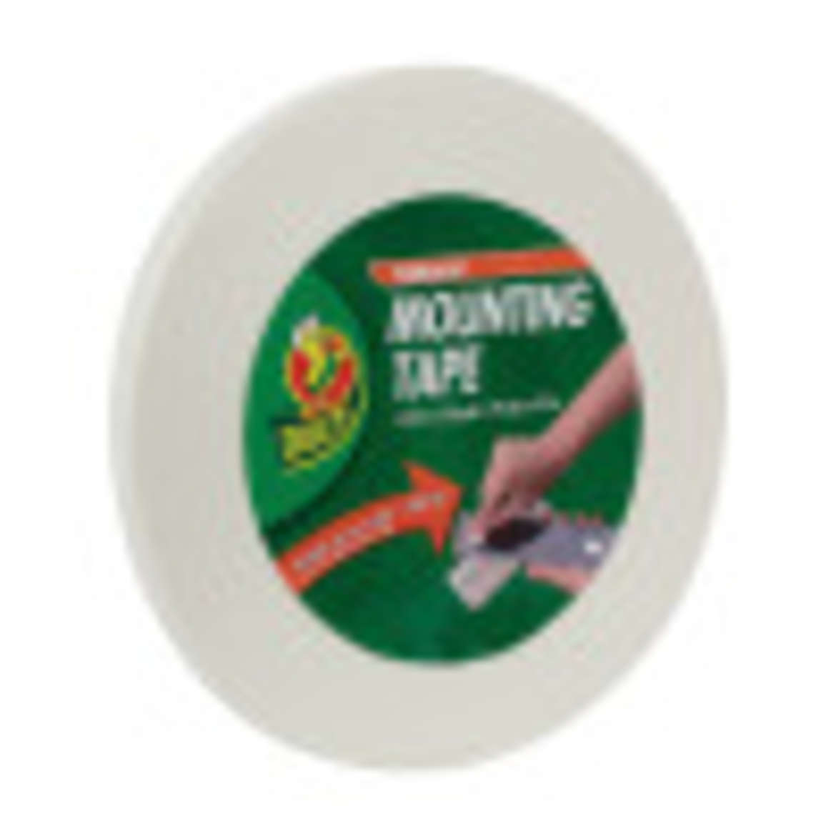 Duck® Brand Permanent Mounting Tape - White, .75 in. x 36 yd. Image