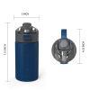 Genesis 12 ounce Vacuum Insulated Stainless Steel Tumbler, Indigo slideshow image 9