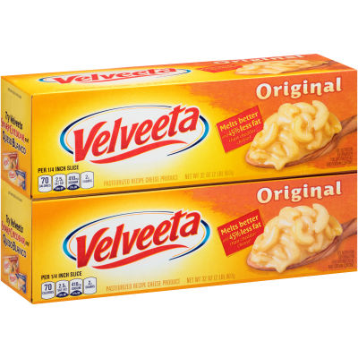 Velveeta Original Cheese 2 - 32 oz Box