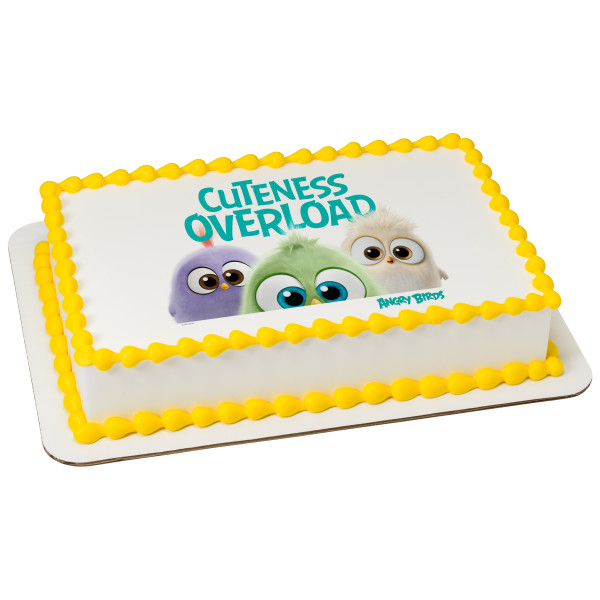 Angry Birds™ Cuteness Overload PhotoCake® Edible Image®