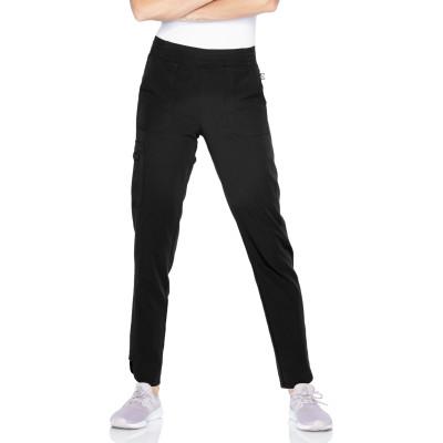 Urbane ICON 5-Pocket Scrub Pants for Women: Contemporary Slim Fit, Super Stretch, Drawstring, Ultra Soft Medical Scrubs 9735-Urbane