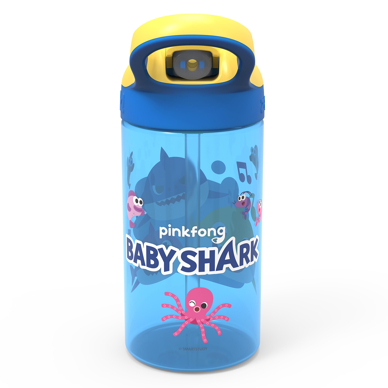 Baby Shark 16 ounce Water Bottle, Underwater Friends slideshow image 3