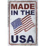 "Made in the USA Novelty Sign (12"" x 18"")"