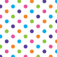 Swatch for Duck® Brand Deco Adhesive Laminate - Polka Dot, 20 in. x 10 ft.