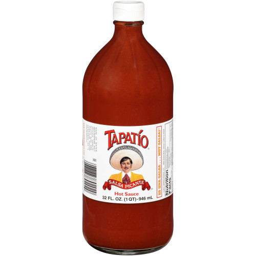 TAPATIO Hot Sauce, 32 oz. Bottles (Pack of 12)