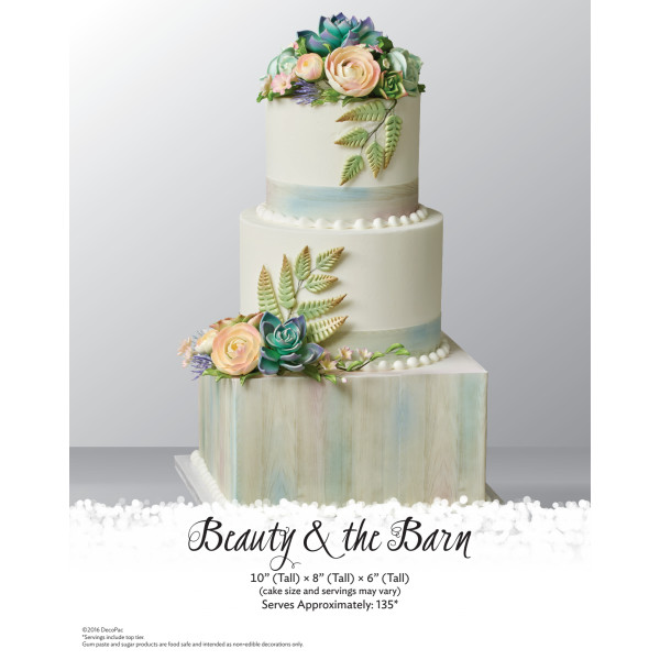 Beauty & The Barn Wedding Cake The Magic of Cakes® Page