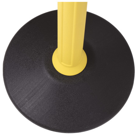 Sentry Stanchion - Yellow with Black Belt 4