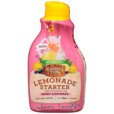 Country Time Lemonade Starter Berry Lemonade Liquid Concentrate 18.2 fl oz Bottle
