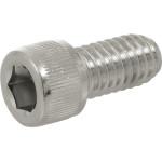 Chrome Knurled-Head Socket Cap Screws