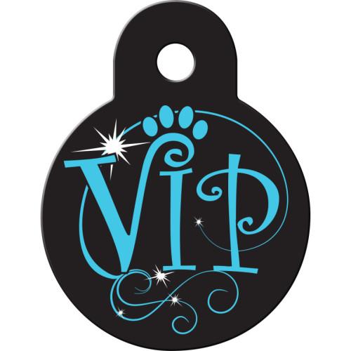 VIP Black Small Circle Quick-Tag 5 Pack