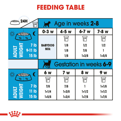 Royal Canin Size Health Nutrition Small Starter Mother & Babydog Dry Dog Food