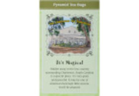Back of Charleston Tea Green Tea Box