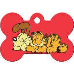 Garfield and Odie Large Bone Quick-Tag