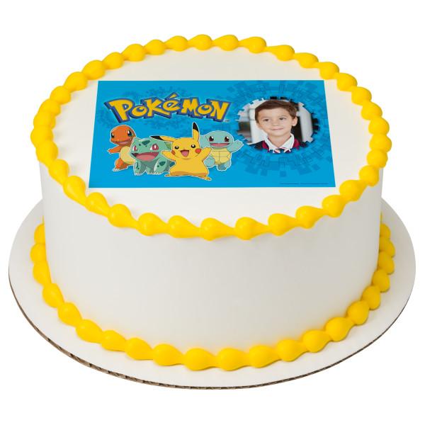 Pokémon™ Pikachu & Friends PhotoCake® Frame