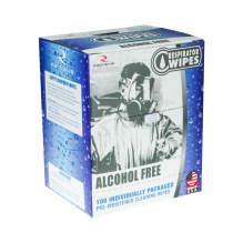 Respirator Wipes Alcohol Free